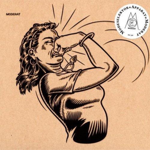 Image of the music record Moderat — Moderat — BPitch Control (CD)